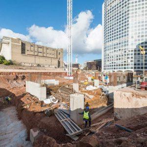 Arena Site Progress - February 16 8